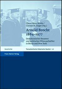 Arnold Brecht 1884-1977