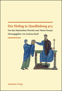 Der Hoftag von Quedlinburg