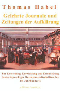 Gelehrte Journale und Zeitungen der Aufklärung