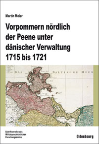 Vorpommern nördlich der Peene unter dänischer Verwaltung 1715-1721
