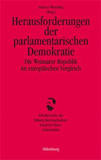 Herausforderungen der parlamentarischen Demokratie