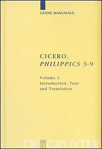 Cicero, Philippics 3-9