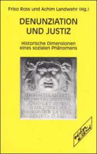 Denunziation und Justiz