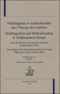 Multilingualism and Multiculturalism in Enlightenment Europe
