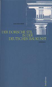 Der dorische Stil in der deutschen Baukunst