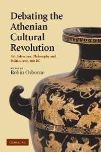 Debating the Athenian Cultural Revolution