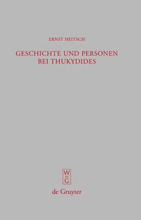 Geschichte und Personen bei Thukydides