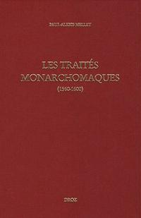 Les Traités monarchomaques