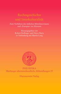 Rechtsgeschichte und Interkulturalität