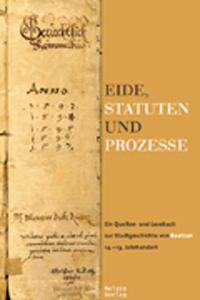 Eide, Statuten und Prozesse