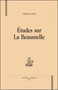 Études sur La Beaumelle