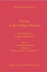 Europa in der Frühen Neuzeit