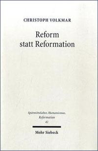 Reform statt Reformation