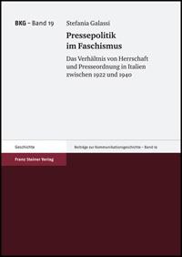 Pressepolitik im Faschismus