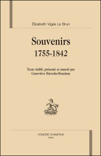 Souvenirs 1755-1842
