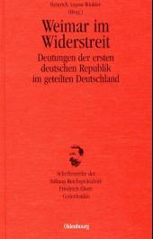 Weimar im Widerstreit