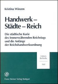 Handwerk - Städte - Reich