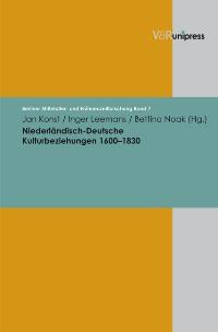 Niederländisch-Deutsche Kulturbeziehungen 1600-1830