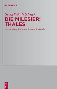 Die Milesier: Thales