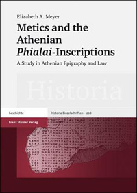 Metics and the Athenian Phialai-Inscriptions