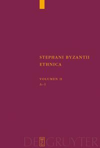 Stephani Byzantii Ethnica