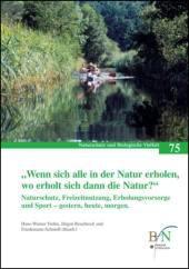 """""""Wenn sich alle in der Natur erholen, wo erholt sich dann die Natur?"""""""