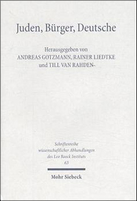 Juden, Bürger, Deutsche