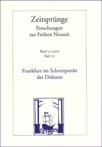 Frankfurt im Schnittpunkt der Diskurse