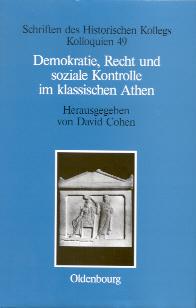 Demokratie, Recht und soziale Kontrolle im klassischen Athen