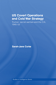 U.S. Covert Operations and Cold War Strategy