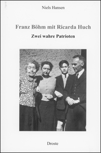 Franz Böhm mit Ricarda Huch