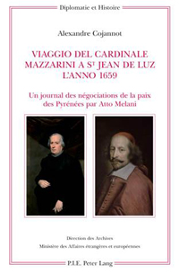 Viaggio del Cardinale Mazzarini a St Jean de Luz l'anno 1659