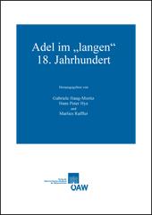 """Adel im """"langen"""" 18. Jahrhundert"""