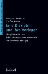 Eine Disziplin und ihre Verleger