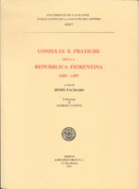 Consulte e pratiche della Repubblica Fiorentina 1495-1497