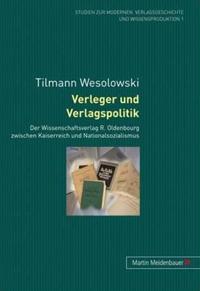 Verleger und Verlagspolitik