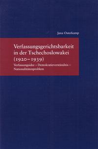 Verfassungsgerichtsbarkeit in der Tschechoslowakei (1920-1939)