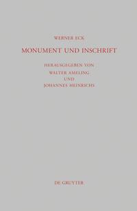 Monument und Inschrift