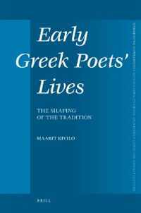 Early Greek Poets' Lives