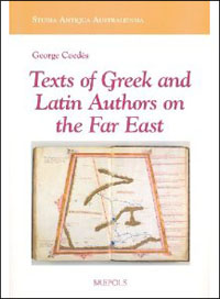 Texts of Greek and Latin Authors on the Far East