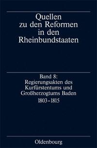 Quellen zu den Reformen in den Rheinbundstaaten