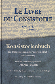 Le Livre du Consistoire