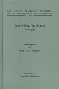 Eneas Silvius Piccolomini: Dialogus