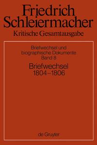 Briefwechsel 1804-1806 (Briefe 1831-2172)