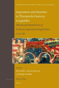 Inquisitors and Heretics in Thirteenth-Century Languedoc