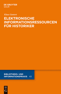 Elektronische Informationsressourcen für Historiker