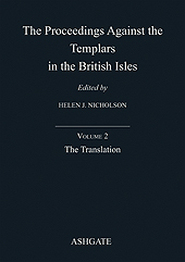 The Proceedings against the Templars in the British Isles