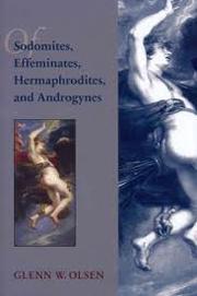 Of Sodomites, Effeminates, Hermaphrodites, and Androgynes
