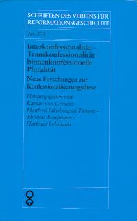 Interkonfessionalität - Transkonfessionalität - binnenkonfessionelle Pluralität