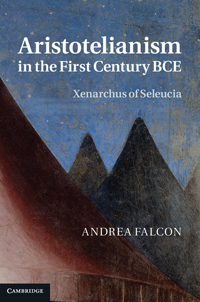 Aristotelianism in the First Century BCE
